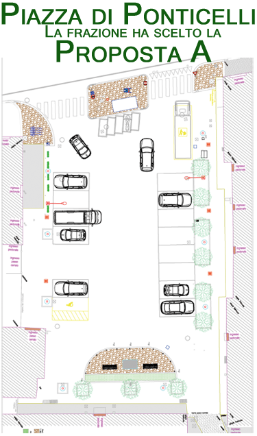 piazza Ponticelli - proposta A