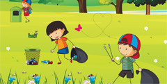 Anche la Consulta delle Frazioni aderisce alla giornata: con le scuole pulirà il parco a Pontesanto e con tutti i volontari il Nuovo parco di Zello !