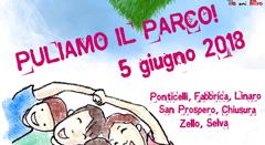 """Nell'ambito di """"Puliamo il mondo"""", martedì 5 giugno tutti invitati a Ponticelli, San Prospero e Zello per pulire i parchi pubblici e rendere più belle le nostre frazioni"""
