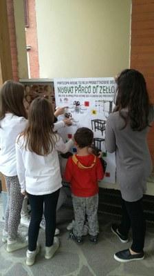 Zello votazione giochi area verde