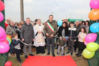 Zello inaugurazione area verde