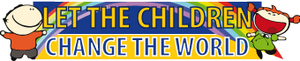 let he children change the world - logo