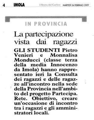 24.02.2009 Il Resto del Carlino
