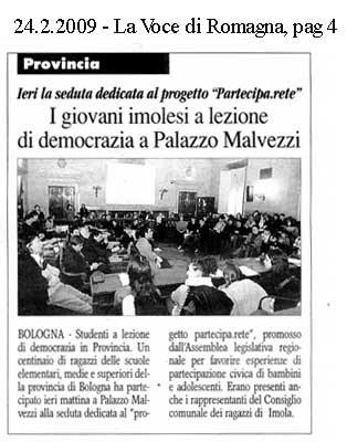 24.02.2009 La Voce di Romagna