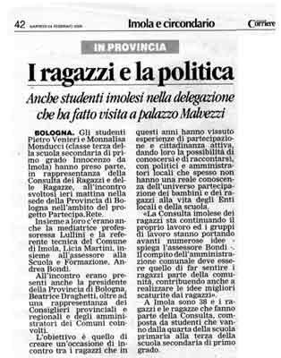 24.02.2009 Il Corriere di Romagna