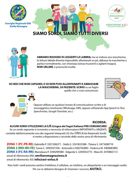 persone sorde - locandina